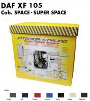 Kit Interno Cabina Completo su Misura per Camion DAF XF 105 Cabina Space e Super Space