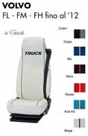 Coprisedile Singolo in Ecopelle e Microfibra Camion VOLVO FL FM FH fino al 2012