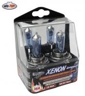 Lampade Auto/Moto H4 Effetto XENON