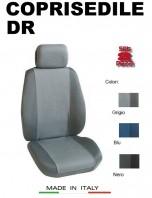 Coprisedili Anteriore Tessuto Traspirante per Auto DR con AIRbag PREMIUM 2Pz.
