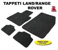 Tappeti in Moquette 4 Pz. EXCLUSIVE per Auto LAND/RANGE ROVER