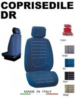 Coprisedili Anteriore in Microfibra Protezione Completa per Auto DR con AIRbag mod. TECHNO 2Pz.
