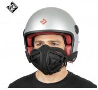 Mascherina Facciale Casco Moto Regolabile Antismog Pollini con Filtri Ricambio FFP2