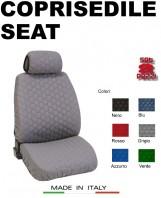 Coprisedili Anteriore in Cotone Trapuntato Super Resistente per Auto SEAT con AIRbag mod. SPEED 2Pz.