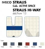 Tappeti su Misura da Camion per IVECO STRALIS Cabina Active Space, Cube, Hi-Way