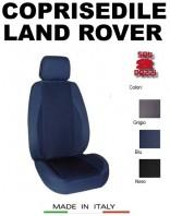 Coprisedili Anteriore in Cotone Extra Resistente per Auto LAND RANGE ROVER con AIRbag POLE POSITION 2Pz.