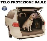 Telo Protezione Baule Auto in ECOPELLE Impermeabile Trasporto Cane, Animali o Carichi