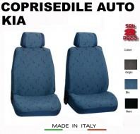 Fodere Coprisedile Anteriori in Cotone per Auto KIA 2Pz.
