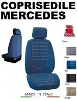 Coprisedili Anteriore in Microfibra Protezione Completa per Auto MERCEDES con AIRbag mod. TECHNO 2Pz.