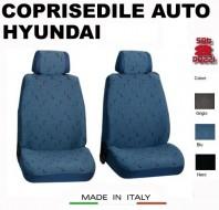 Fodere Coprisedile Anteriori in Cotone per Auto HYUNDAI 2Pz.