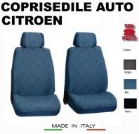 Fodere Coprisedile Anteriori in Cotone per Auto CITROEN 2Pz.