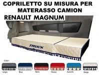 Copriletto su Misura per Materasso Cabina Camion RENAULT MAGNUM