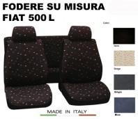 Coprisedili Set Completo in Cotone per FIAT 500L