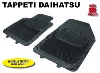 Tappeti Anteriori in Gomma COMFORT per Auto DAIHATSU