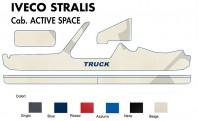Copricruscotto Copertura Cruscotto su misura per Camion IVECO STRALIS Cabina ACTIVE SPACE