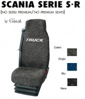 Coprisedile in Tessuto Super Resistente per Camion SCANIA Serie S - Serie R Restyling