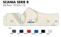 Copricruscotto Copertura Cruscotto su misura per Camion SCANIA Serie R fino dal 2010 al 2012