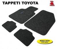 Tappeti in Moquette 4 Pz. EXCLUSIVE per Auto TOYOTA