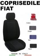 Coprisedili Anteriore Tessuto Imbottito per Auto FIAT con AIRbag TREND 2Pz.