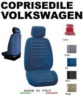 Coprisedili Anteriore in Microfibra Protezione Completa per Auto VOLKSWAGEN con AIRbag TECHNO 2Pz.