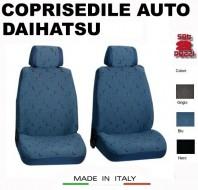 Fodere Coprisedile Anteriori in Cotone per Auto DAIHATSU 2Pz.