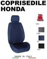 Coprisedili Anteriore in Cotone Extra Resistente per Auto HONDA con AIRbag POLE POSITION 2Pz.