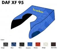 Copricofano Copertura Cofano Trucker Ecopelle su Misura per Camion DAF XF 95