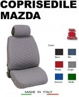 Coprisedili Anteriore in Cotone Trapuntato Super Resistente per Auto MAZDA con AIRbag mod. SPEED 2Pz.