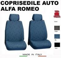 Fodere Coprisedile Anteriori in Cotone per Auto ALFA ROMEO 2Pz.