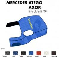 Copricofano Copertura Cofano Trucker Ecopelle su Misura per Camion Mercedes ATEGO AXOR fino al 2004