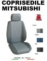 Coprisedili Anteriore Tessuto Traspirante per Auto MITSUBISHI con AIRbag PREMIUM 2Pz.