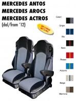Coprisedili EXTREME Microfibra per Camion Mercedes ANTOS AROCS ACTROS dal 2012 in poi con/senza Sedile SFO