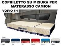 Copriletto su Misura per Materasso Cabina Camion VOLVO FH