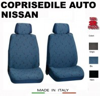 Fodere Coprisedile Anteriori in Cotone per Auto NISSAN 2Pz.