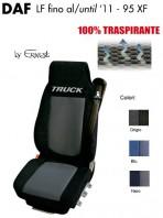 Coprisedile in Microfibra Traspirante 3D AntiSudore AIRPLUS per Camion DAF LF fino al 2011 e 95XF