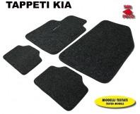 Tappeti in Moquette 4 Pz. EXCLUSIVE per Auto KIA