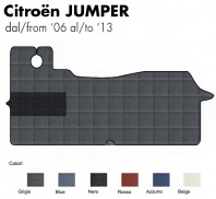 Tappeto Furgone su Misura Citroen Jumper dal 2006 al 2013