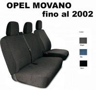 Coprisedili Furgone 3 Posti Opel MOVANO fino al 2002