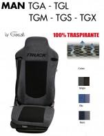 Coprisedile in Microfibra Traspirante 3D AntiSudore AIRPLUS per Camion MAN TGA TGL TGM TGS TGX