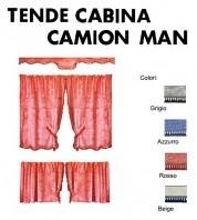 Tende Cabina per Camion MAN TGS, MAN TGM, MAN TGL, MAN TGA, MAN TGX