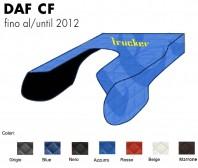 Copricofano Copertura Cofano Trucker Ecopelle su Misura per Camion DAF CF fino al 2012