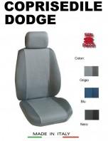 Coprisedili Anteriore Tessuto Traspirante per Auto DODGE con AIRbag PREMIUM 2Pz.