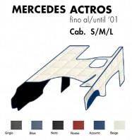 Copricofano Copertura Cofano su Misura per Camion Mercedes ACTROS Cabina S/M/L fino al 2001