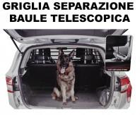 Griglia Telescopica Separazione Baule Auto Trasporto Cane, Animali o Carichi