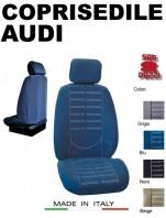 Coprisedili Anteriore in Microfibra Protezione Completa per Auto AUDI con AIRbag mod. TECHNO 2Pz.