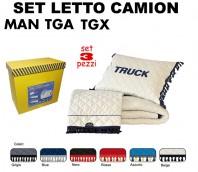 Set da Letto su Misura per Camion MAN TGA e TGX