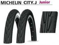 Copertone Bici Bimbo Ragazzo Michelin City Junior 2 Pz.
