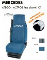 Coprisedile in Microfibra Traspirante AntiSudore AIRTECH per Camion Mercedes ATEGO e ACTROS fino al 2001