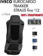 Coprisedile in Microfibra Traspirante 3D AntiSudore AIRPLUS per Camion IVECO EUROCARGO TRAKKER STRALIS fino al 2012