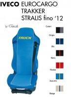 Coprisedile Singolo in Ecopelle e Microfibra Camion IVECO EUROCARGO TRAKKER STRALIS fino al 2012